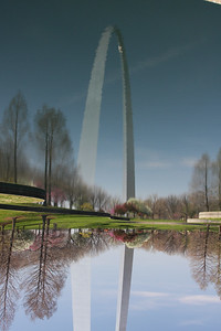 Arch Reflection - St. Louis, MO
