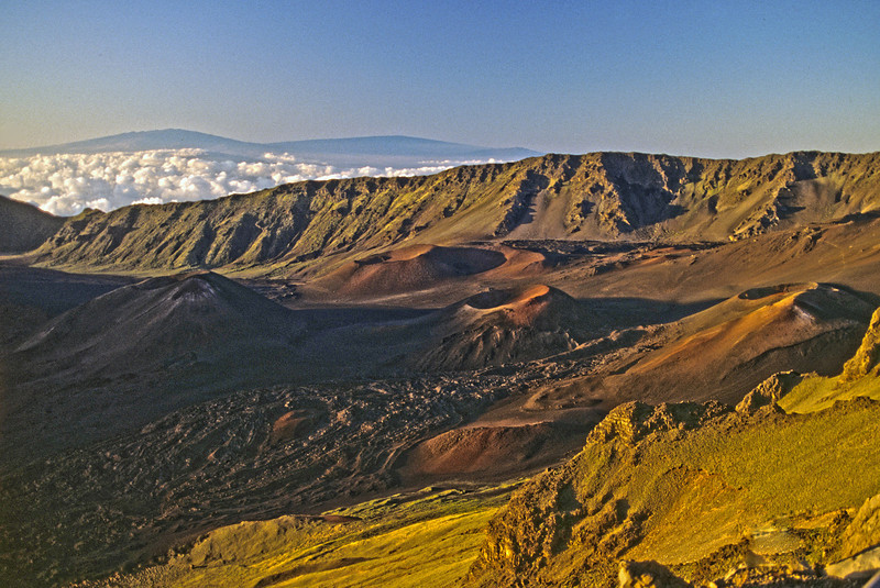Mt Haleakala crater, Maui, Hawaii. 1994