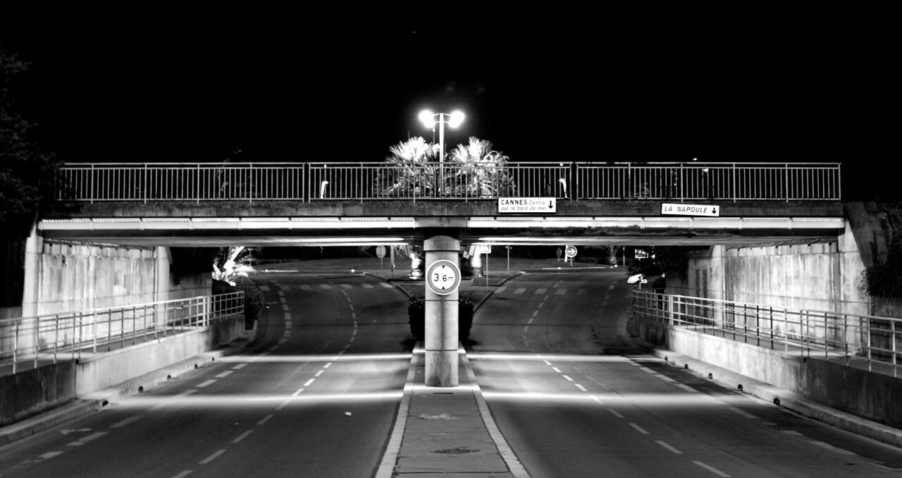 bridge, b&W