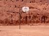 Basketball in Monument Valley