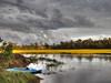 Storm breaking over a North Carolina Marsh. 2012