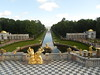 View from Peterhof Palace in St. Petersburg, Russia.