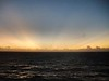 Sunset on the western Caribbean