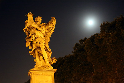 "Ponte Sant'Angelo, Rome, Italy - ""The Angel with the Column"""