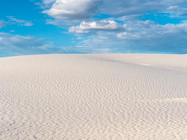 Endless White Sand