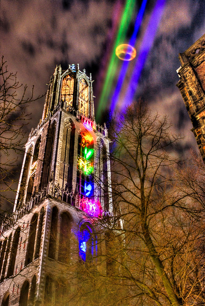 Sol Lumen art project, Utrecht, The Netherlands.