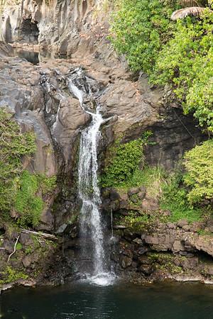 Waterfall at Oheo Gulch