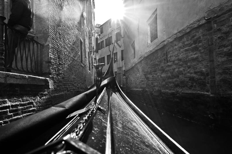 Magic Gondola Ride, Venice.