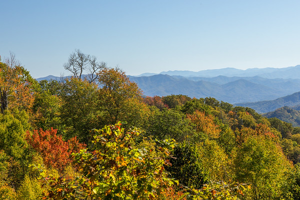 Early fall on the Blue Ridge Parkway