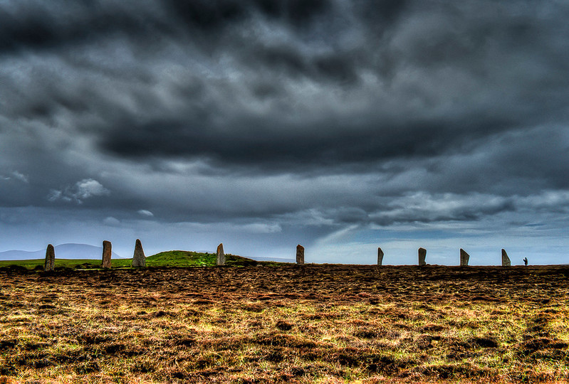 Ring of Brodgar, Orkney, Scotland.