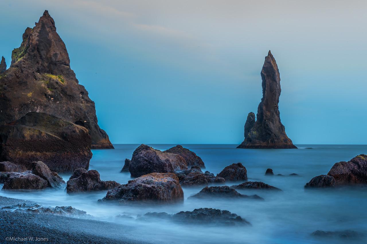 Coast at Vik, Iceland