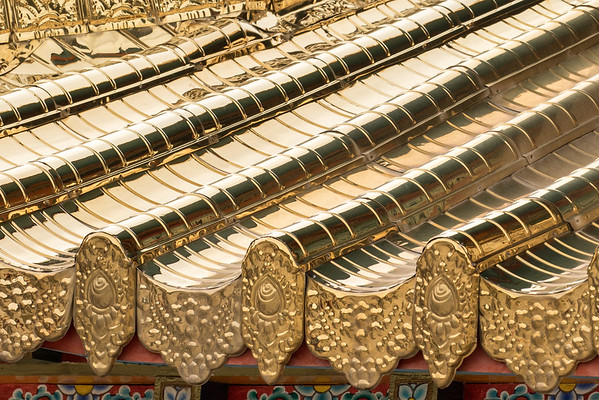 Temple gold roof