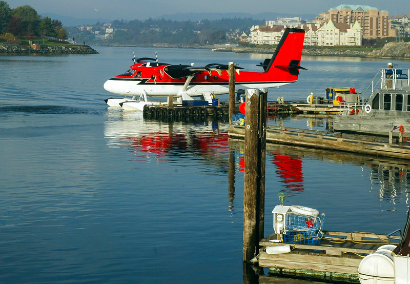 Taxiing to the Dock