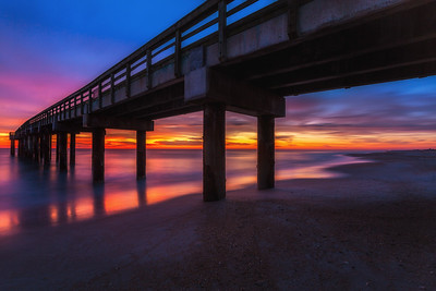 Saint Augustine Pier at Sunrise, St. Augustine, Florida