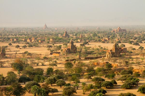 Pagodas and more pagodas