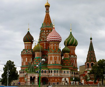 Saint Basil's Cathedral in Moscow's Red Square