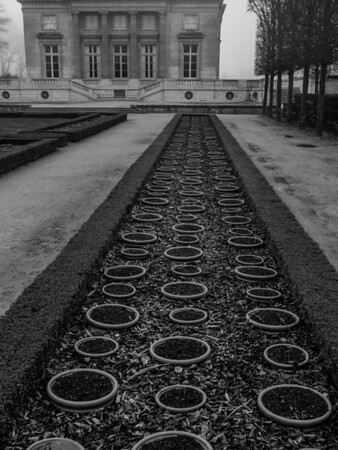 Versailles, future flower bed