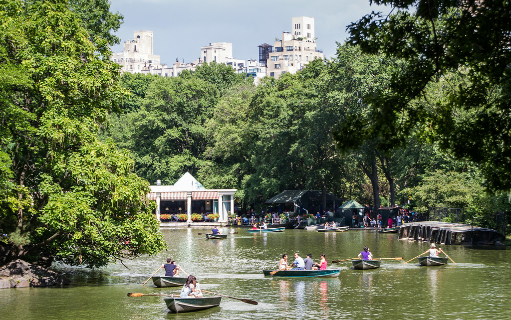 Central Park Rowboats
