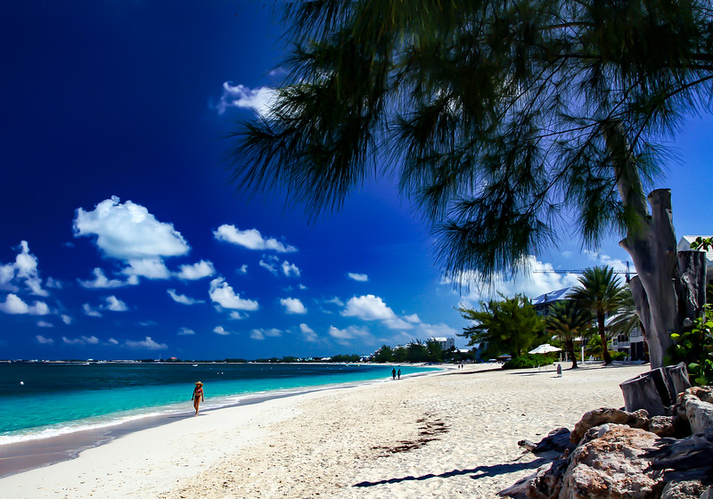 Seven Mile Beach, Cayman Islands.
