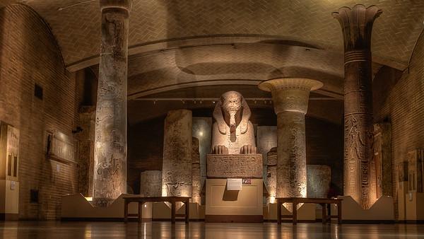 Penn Museum: Sphinx of Ramese II in the Temple of Ptah