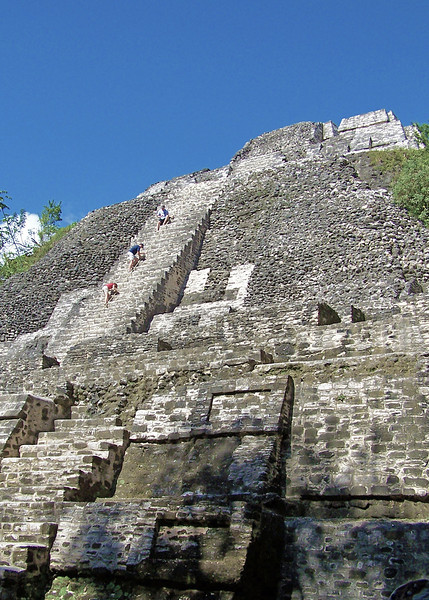 Indian ruins, Lamanai, Belize.2008