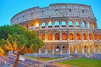 Roman Colosseum - Italy