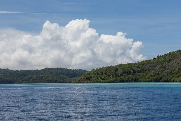 Raja Ampat scenery