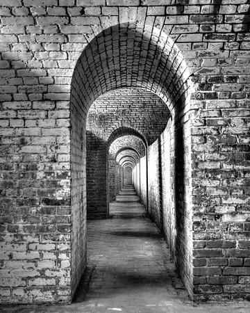 Hallway BW