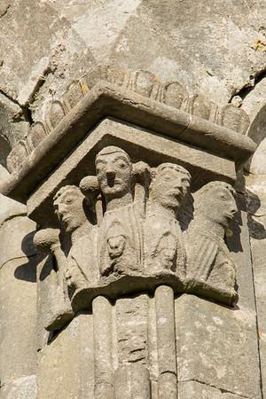 Kilfenora cathedral column