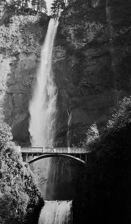 Multnomah Falls, Oregon. 1930s probably.