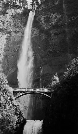 Multnomah Falls, Oregon. 1930s probably.