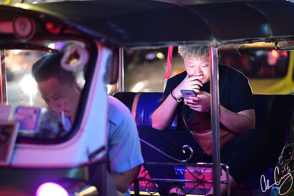 """tuk-tuk"" rickshaw taxi"