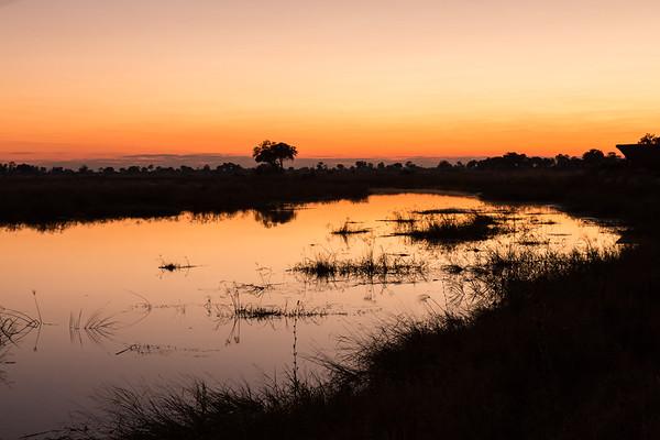 Kwando sunrise