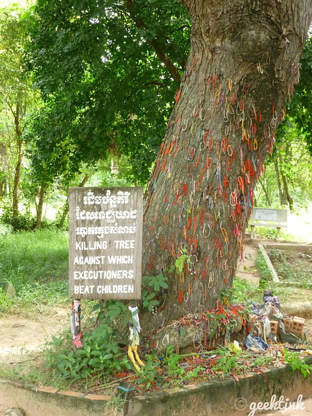 The Killing Tree in the Cambodian Killing Fields