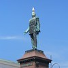 Monument to Russian Emperor Alexander II in Helsinki, Finland.