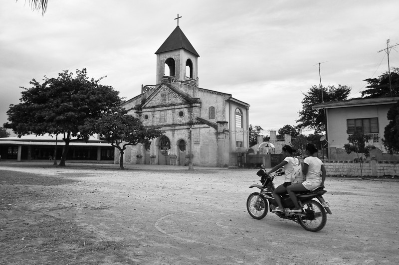 Church, Moalboal Peninsula, Cebu, the Philippines