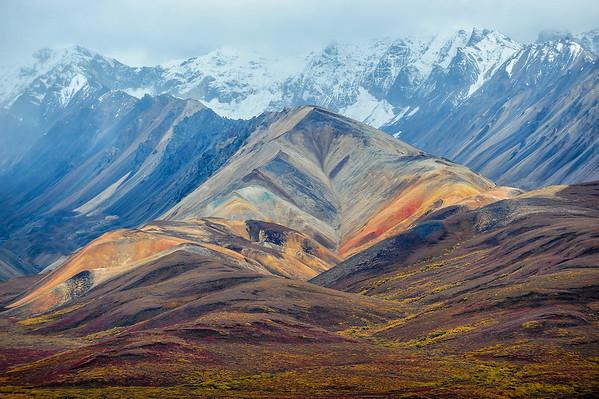 Polychromes, Denali National Park