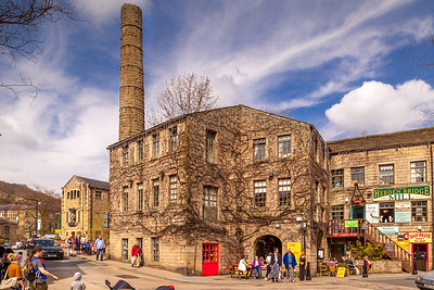 Hebden Bridge Mill, Yorkshire  2015.