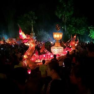 Boun Heua Fai Festival