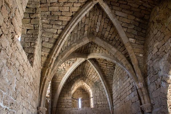 Caesarea Crusader fortress