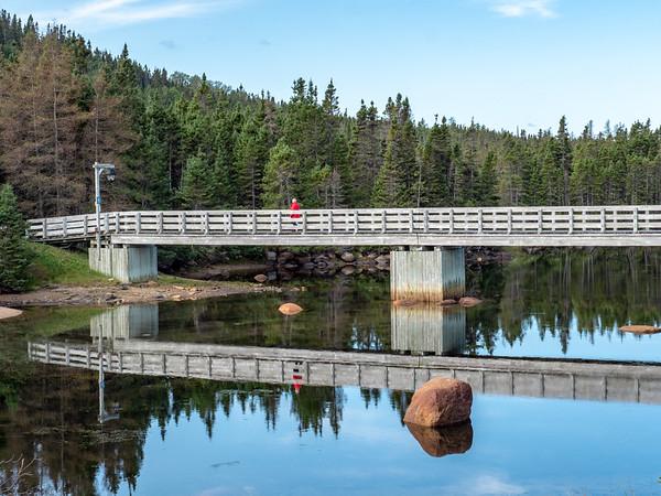 Terra Nova bridge reflection