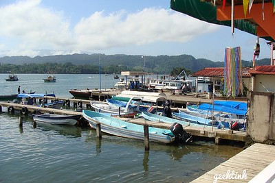 Fishing Boats in Guatemala