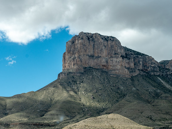 El Capitan in the Guadeloupe Mountains