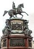 Bronze equestrian statue of Tsar Nicholas I