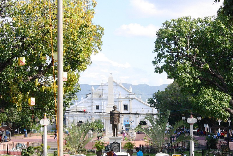 Plaza Salcedo and St. Paul's Cathedral  in Vigan