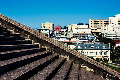 Stairway around the city