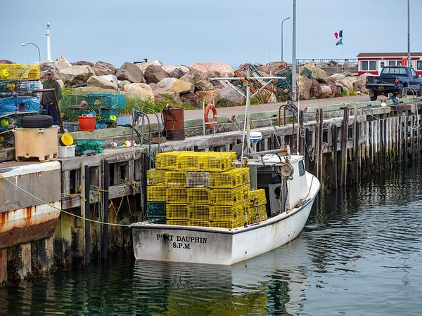Fishing boat in Miquelon