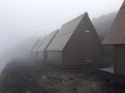 Nyiragongo summit camp