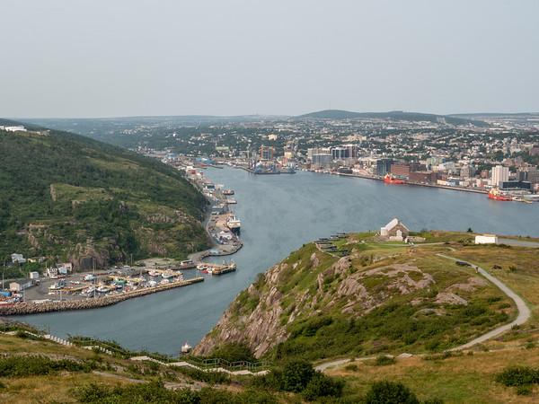 St. John's harbor from Signal Hill