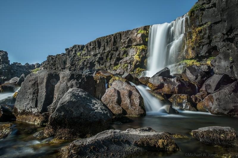 Oxafoss, Thingvellir, Iceland
